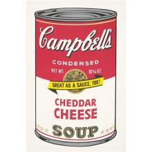 ANDY WARHOL - Cheddar Cheese, from Campbell's Soup II, 1969