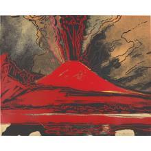 ANDY WARHOL - Vesuvius, 1985
