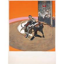 FRANCIS BACON - Étude pour une corrida (after Study for a Bullfight No. 1, 1969), 1971