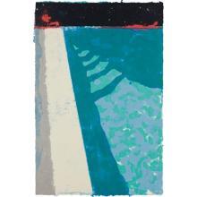 DAVID HOCKNEY - Steps with Shadow F (Paper Pool 2), 1978