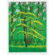DAVID HOCKNEY - 19 May, from The Arrival of Spring in Woldgate, East Yorkshire in 2011 (twenty eleven), 2011