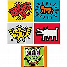 KEITH HARING - Icons, 1990