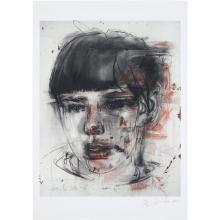 JENNY SAVILLE - Red Stare, 2012