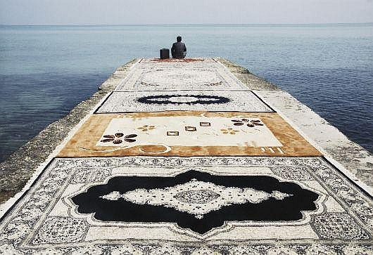 Untitled from Water and Persian Rugs, 2004