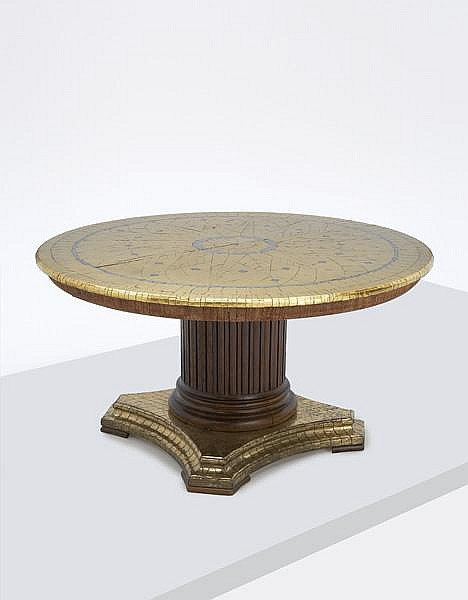 Unique and important dining table