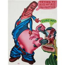 PETER SAUL - Trying to Kiss My Ass, You Must Die