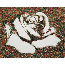 VIK MUNIZ - The White Rose (from the Monad Series)