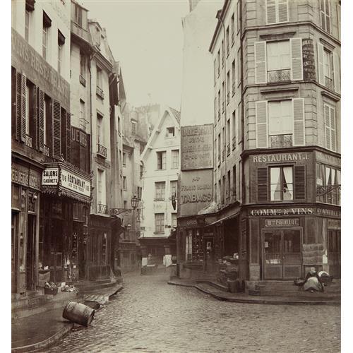 Charles marville rue pirouette vue prise de la rue rambut - Rue rambuteau paris ...