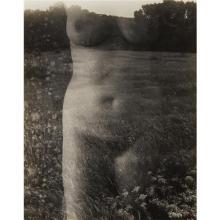 HARRY CALLAHAN - Aix-en-Provence (Nude, Front), 1958