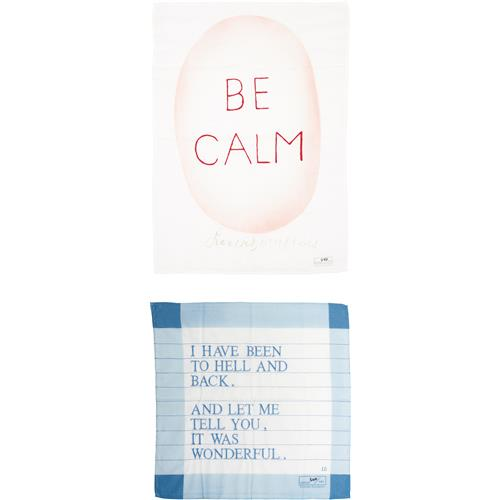 AFTER LOUISE BOURGEOIS - Be Calm; and Untitled (I have been to Hell and Back), 2005; and 2007