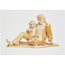 JEFF KOONS - Michael Jackson and Bubbles, 1995