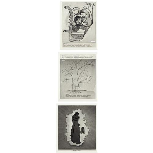 ROBERT BECK - Three works one lot: (i) Untitled (