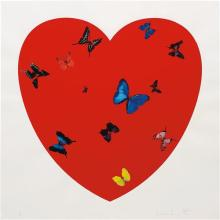 DAMIEN HIRST - All You Need Is Love, Love, Love, 2008