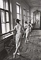 Bolshoi Ballet School, Moscow, 1958, Cornell Capa, Click for value