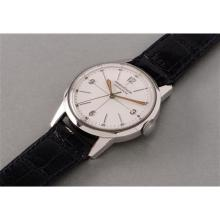 JAEGER LECOULTRE - A rare and fine stainless steel chronometer wristwatch with center seconds, 1958