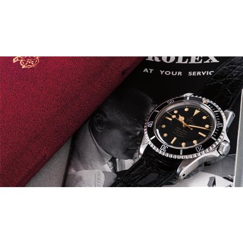TUDOR - A very attractive and rare stainless steel wristwatch with