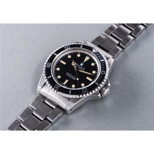 ROLEX - A fine and rare stainless steel wristwatch with center seconds and helium valve, made for COMEX, 1974