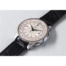 ROLEX - A fine and rare stainless steel chronograph wristwatch, 1946
