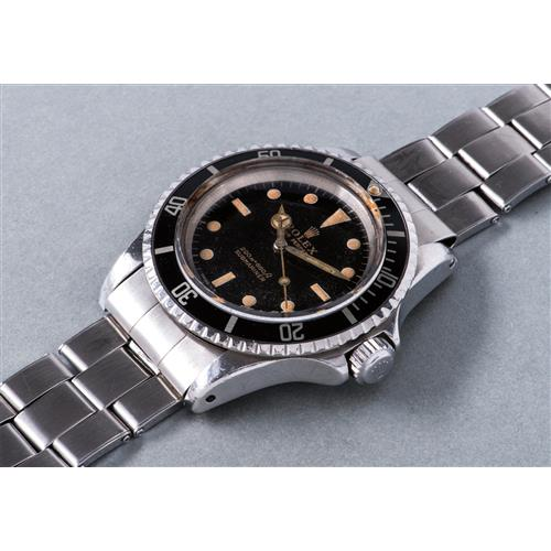 ROLEX - A rare and fine stainless steel wristwatch with bracelet, used during the Belgo-Dutch Antarctic Expedition of 1966, 1965