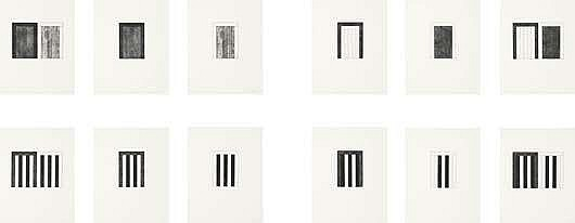 BRICE MARDEN Portfolio of 12 works: 12 Views for