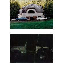 OSCAR TUAZON - Two works: (i) Geodesic Dome House; (ii) Off Road