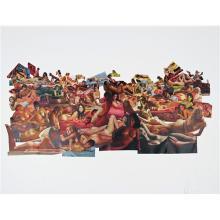 CAROL BOVE - Untitled (Martha Rosler Collage)