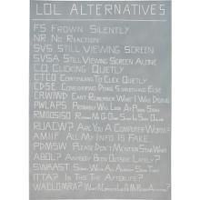 SCOTT REEDER - Untitled (LOL Alternatives)