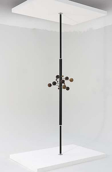 Revolving coat rack, model no. AT16
