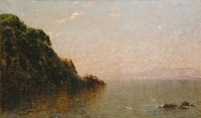 Property of a Gentleman JOHN BUNYAN BRISTOL (1826-1909) Lake Memphramagog, Vermont signed and