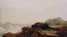 Another owner WILLIAM JACOB HAYS (1830-1875) Dakota Badlands, 1860 signed