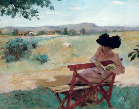 Property from the Thyssen-Bornemisza Collection IRVING RAMSEY WILES (1861-1948) Sunshine and Shadow