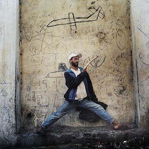 Homme au Bâton-Tanger, 1999