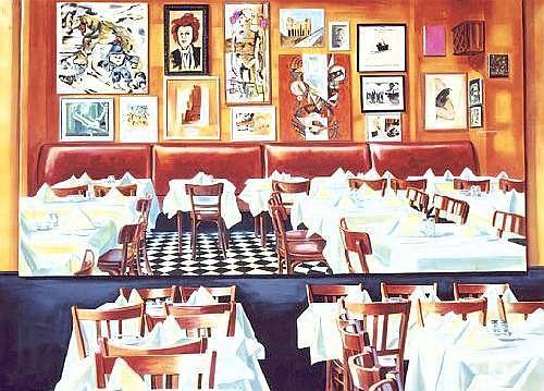 MARTIN KIPPENBERGER  Paris Bar, 1993
