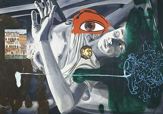 DAVID SALLE Colony, 1986