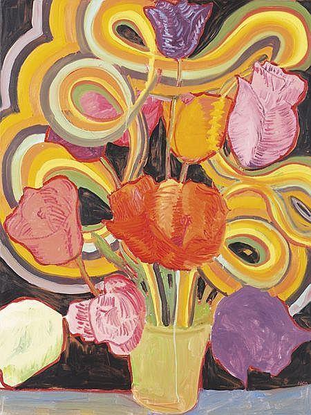 ANTON HENNING Blumenstilleben No. 52, 2000