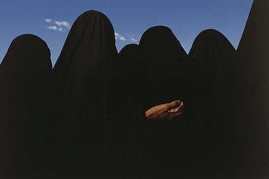 Photographs: JAMES NACHTWEY Iraq (women in black