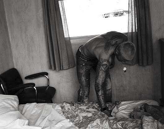 Photographs: STEVEN KLEIN David Beckham 01,