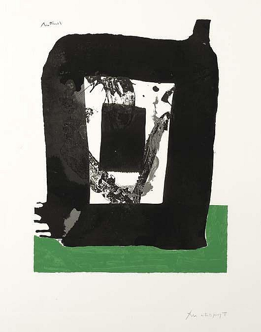 ROBERT MOTHERWELL Untitled (from the Basque