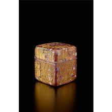 KYOHEI FUJITA - Kazaribako (ornamented box), circa 1995