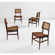 JOAQUIM TENREIRO - Set of four side chairs, circa 1960