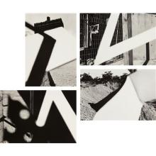 RAY K. METZKER - Selected Images from Pictus Interruptus, 1976-1980