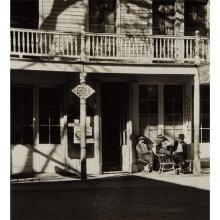 ALMA LAVENSON - St. Charles Hotel, Downieville, 1934