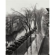 WALKER EVANS - Main Street, Saratoga Springs, New York, 1931