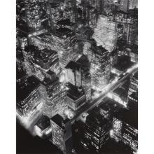 BERENICE ABBOTT - New York at Night, 1932