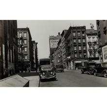 WALKER EVANS - First Avenue and East 61st Street, New York, 1938