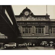 BERENICE ABBOTT - Ferry, Foot of Liberty Street, Manhattan, 1936