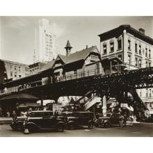 BERENICE ABBOTT - Hanover Square, Manhattan, May 25th, 1936