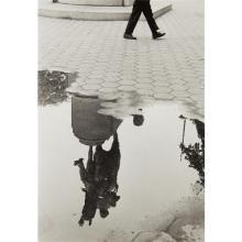 ANDRÉ KERTÉSZ - Washington Square After Rain, 1970