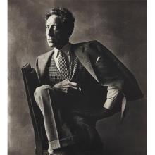 IRVING PENN - Jean Cocteau, Paris, 1948