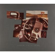 DAVID HOCKNEY - The Steering Wheel, Oct., 1982